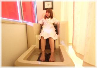 ゲルマニウム温浴(ゆったりくつろげる椅子タイプ)